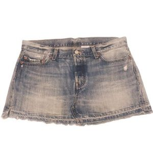 Levi's 501 ReDone Button Fly Mini Skirt  Size: 30W